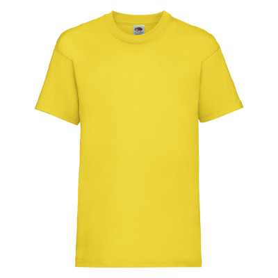 Kids Valueweight Tee Yellow