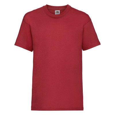 Kids Valueweight Tee Vintage Heather Red 164