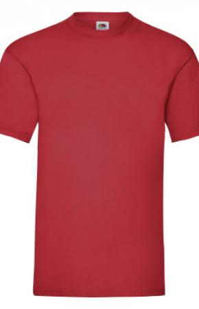 Valueweight Tee Red