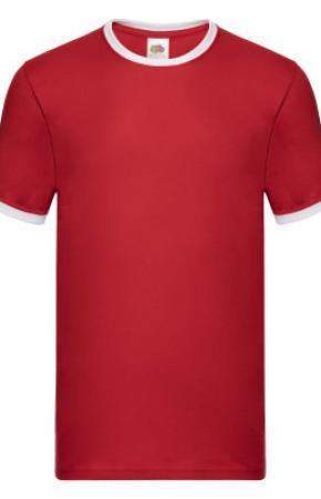 Ringer Tee Red/White