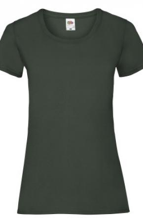 Lady-Fit Valueweight Tee Bottle Green