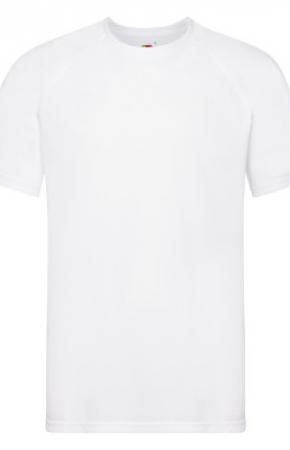 Mens Performance Tee T-Shirt White