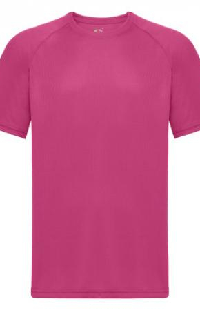 Mens Performance Tee Tee Fuchsia