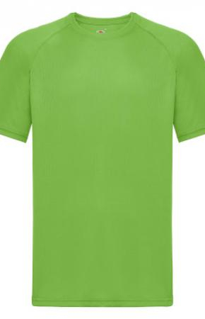 Mens Performance Tee Tee Lime
