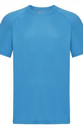 Mens Performance Tee Tee Az Blue