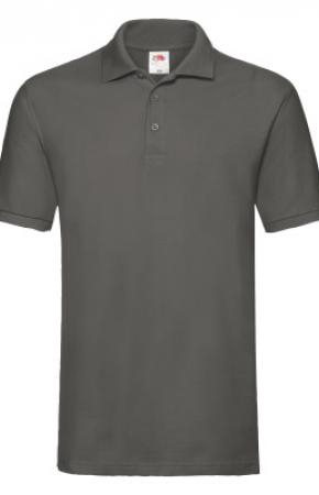 Premium Polo Light Graphite