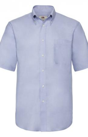 Mens Oxford Shirt S/S Oxford Blue