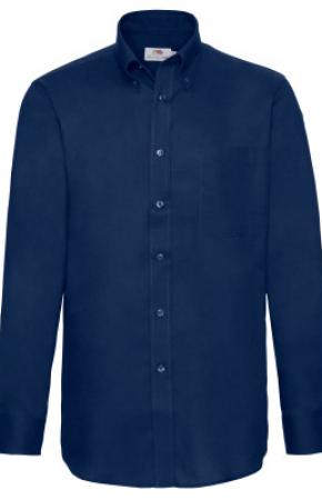 Mens Oxford Shirt L/S Navy
