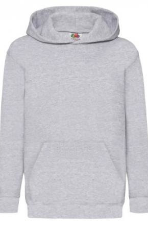 Kids Classic Hooded Swt H-Grey