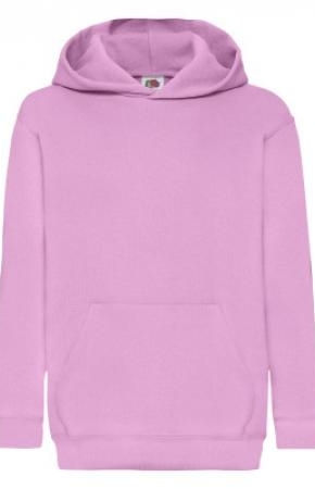 Kids Classic Hooded Swt Light Pink