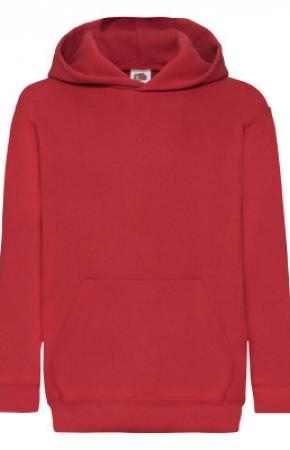Kids Classic Hooded Swt Red