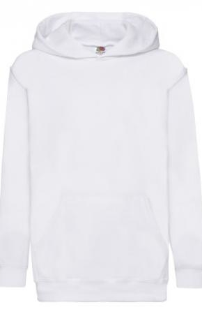 Kids Classic Hooded Swt White