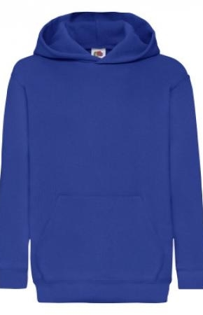 Kids Classic Hooded Swt Royal Blue