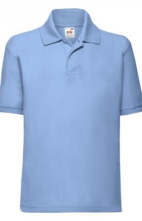 Kids Polo 65:35 New Sky Blue