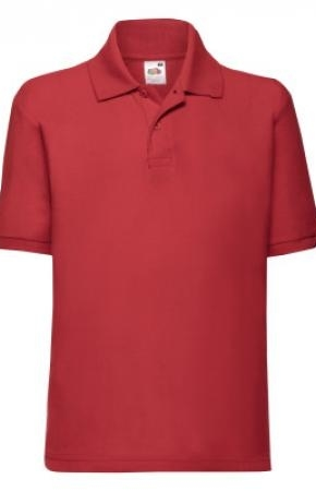 Kids Polo 65:35 Red