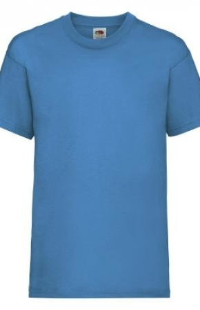 Kids Valueweight Tee Azure Blue