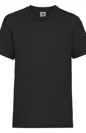 Kids Valueweight Tee Black