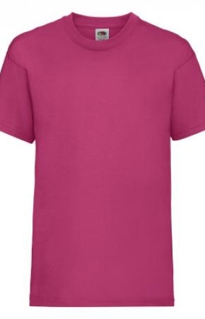 Kids Valueweight Tee Fuchsia