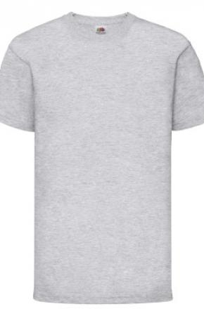 Kids Valueweight Tee Heather Grey