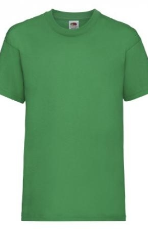 Kids Valueweight Tee Kelly Green