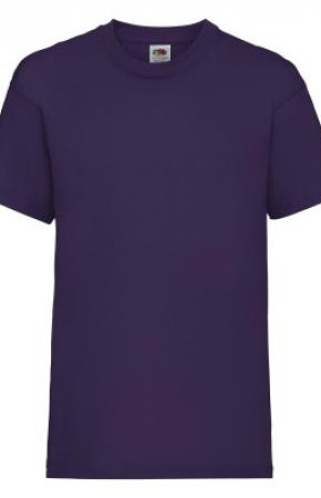 Kids Valueweight Tee New Purple