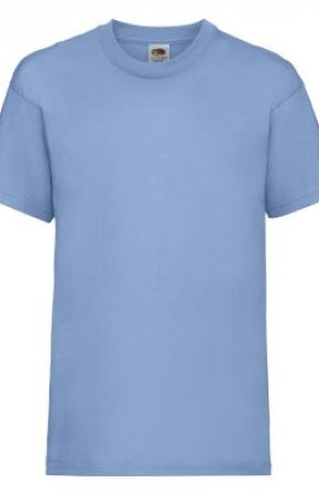 Kids Valueweight Tee New Sky Blue 2-3 yrs