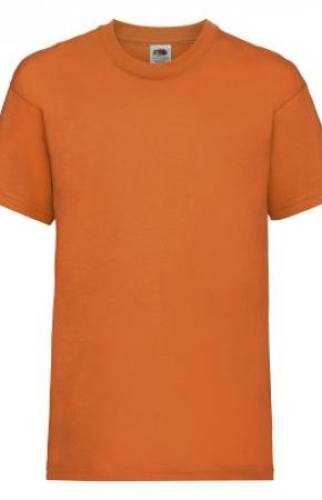 Kids Valueweight Tee Orange